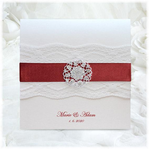 Luxury Lace Wedding Invitations
