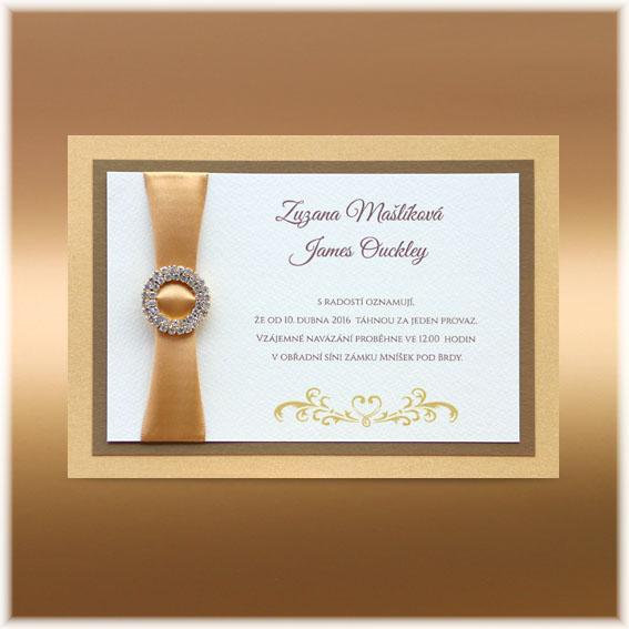 135 mm do obálky c5 luxusní svatební oznámení luxusní svatební