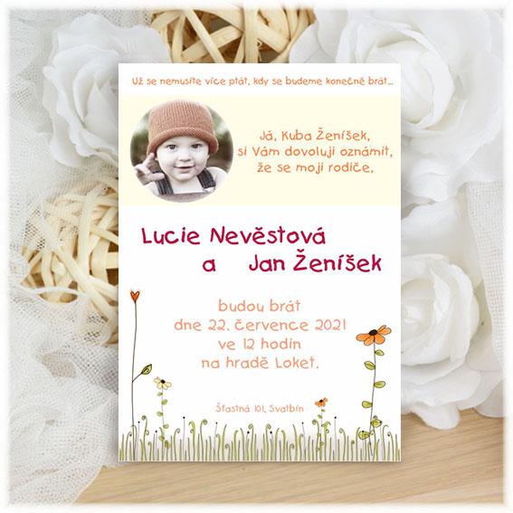 Photo Wedding Invitation child