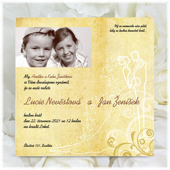 Child Wedding Invitation