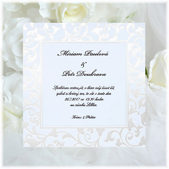 Classic cheap Wedding Invitations