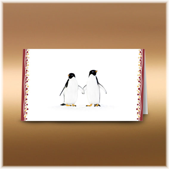 Penguins Wedding Invitations