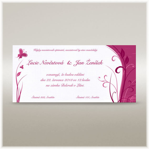 Butterfly Wedding Invitations
