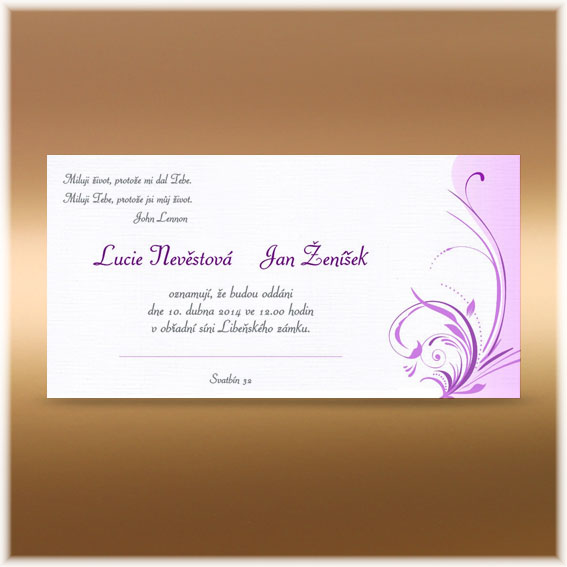 Ornamental Cheap Wedding Invitations