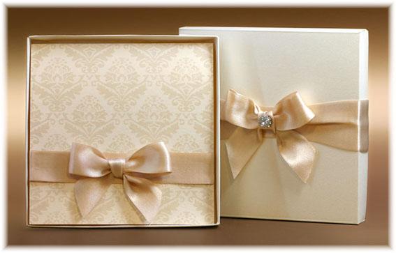 Svadobné oznámenia s krabičkou