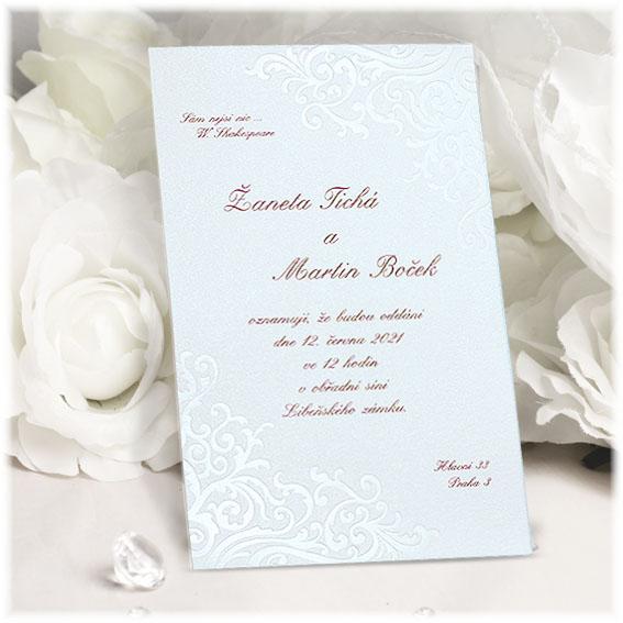 Classic Simple Wedding Invitations