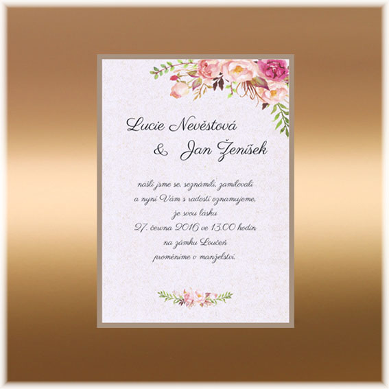 Rustik Wedding Invitation