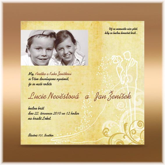 Child Wedding Invitation