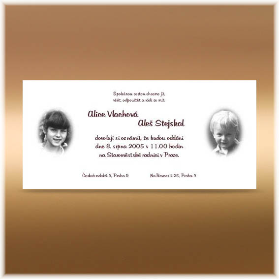Child photos Wedding Invitations