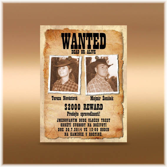 Wedding Invitations western